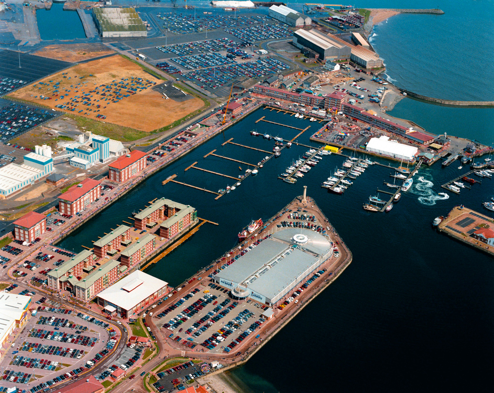Hartlepool Marina by Chris Rout