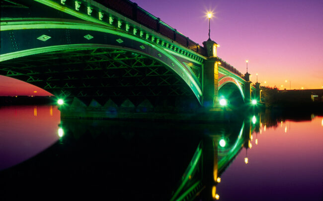 Thornaby Bridge by Chris Rout