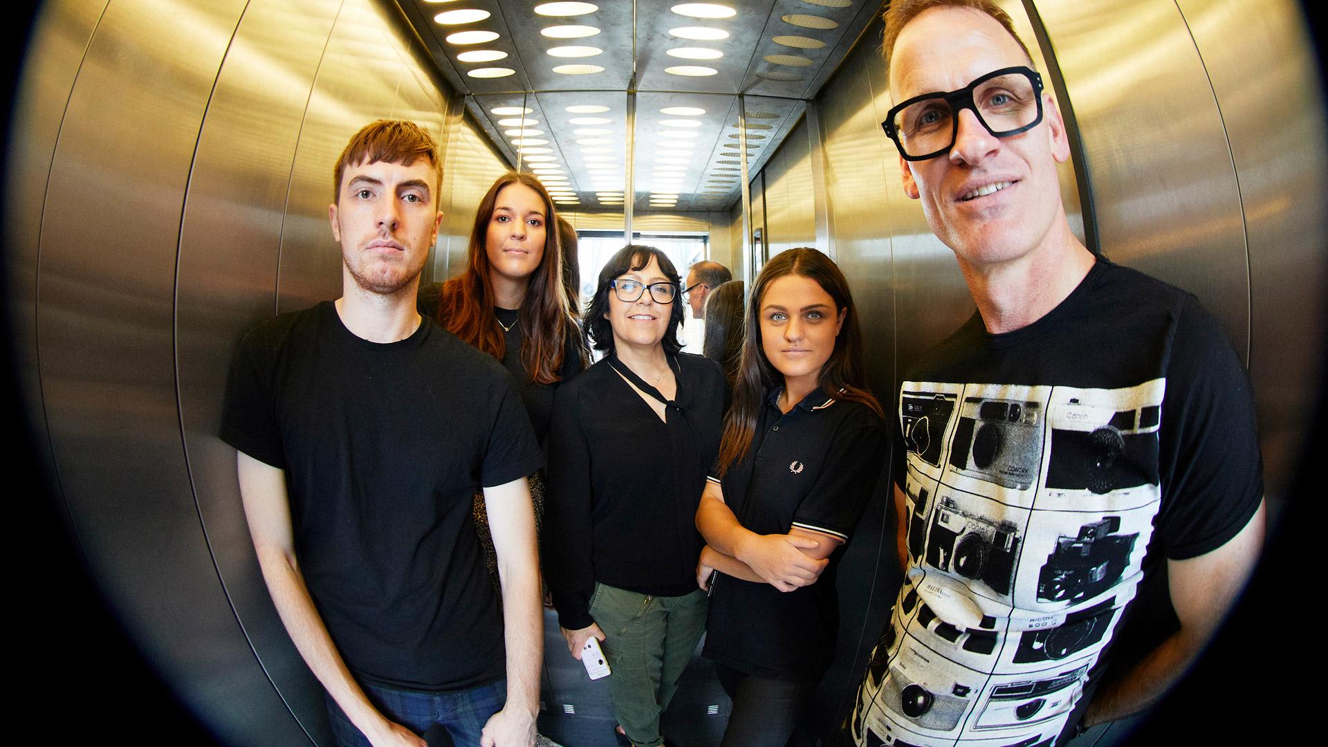 The Unknown Creative team